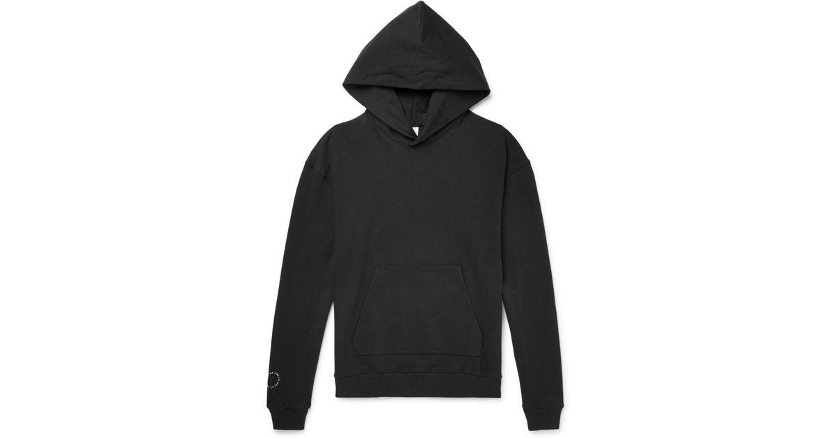 Nike + Lebron James X John Elliott Stretch-cotton Jersey Hoodie in Black  for Men - Lyst 8c1a07a71