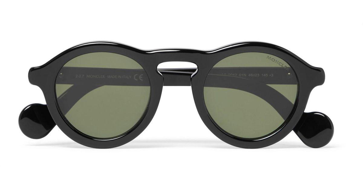 Round-frame metal sunglasses Moncler IwVUskY