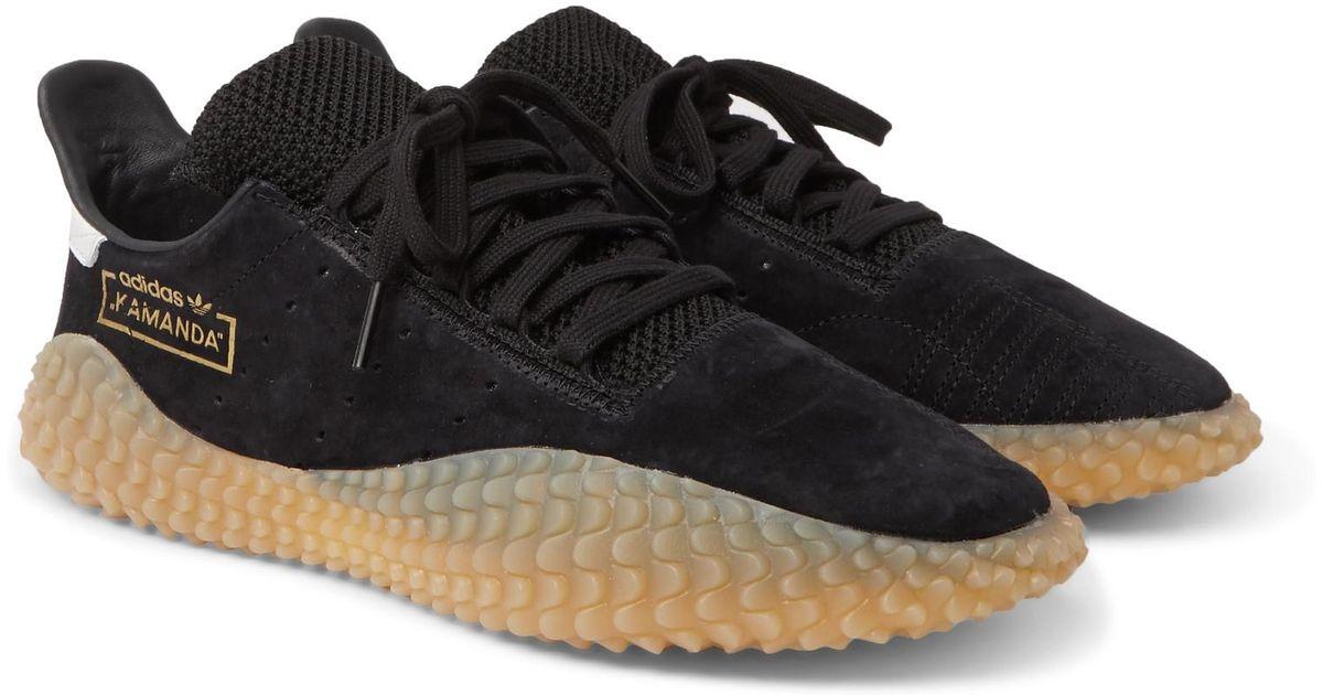 Originals for Suede Kamanda Men in Sneakers Adidas Black Lyst Oq5wFO