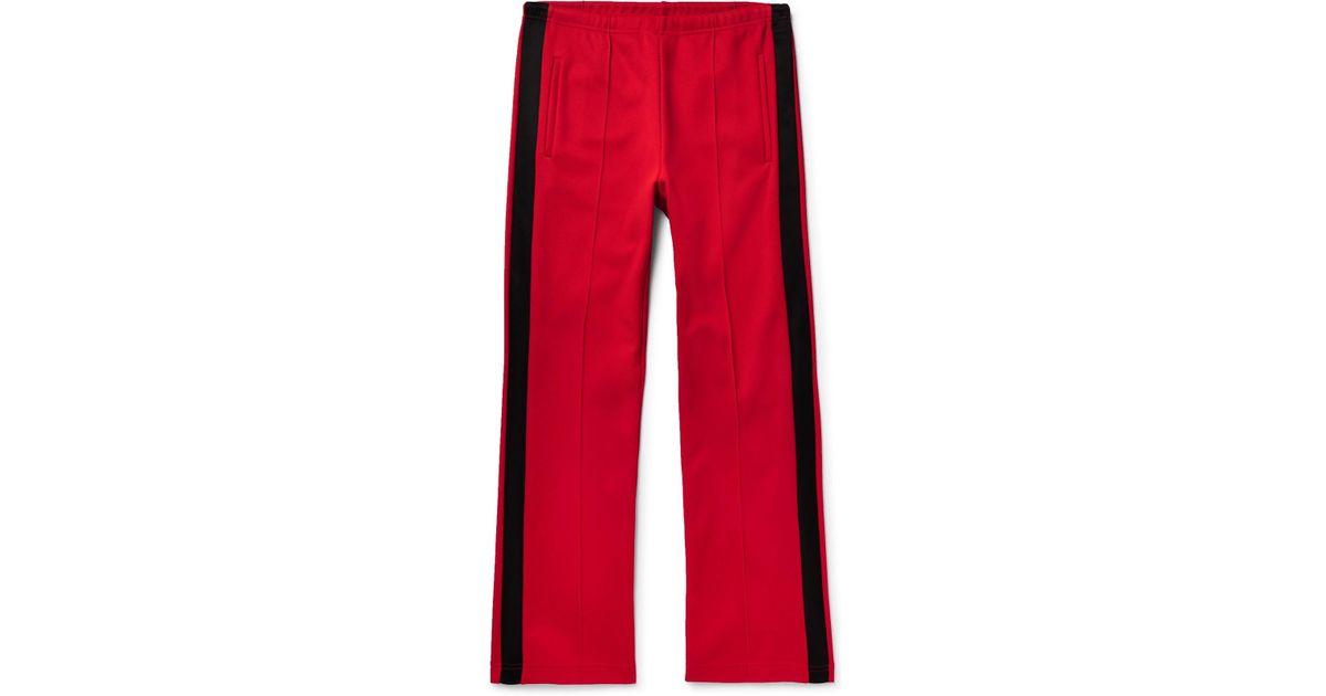 Satin-trimmed Piqué Drawstring Trousers Maison Martin Margiela rIooRp