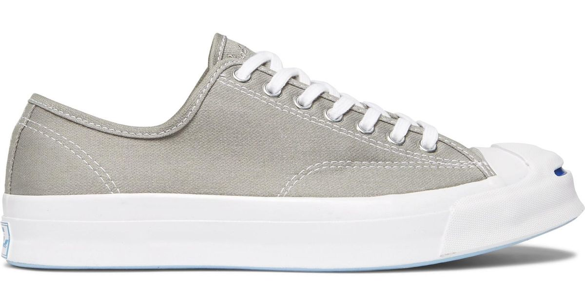 33a3690fcc8cc8 Lyst - Converse Jack Purcell Signature Canvas Sneakers in Gray for Men