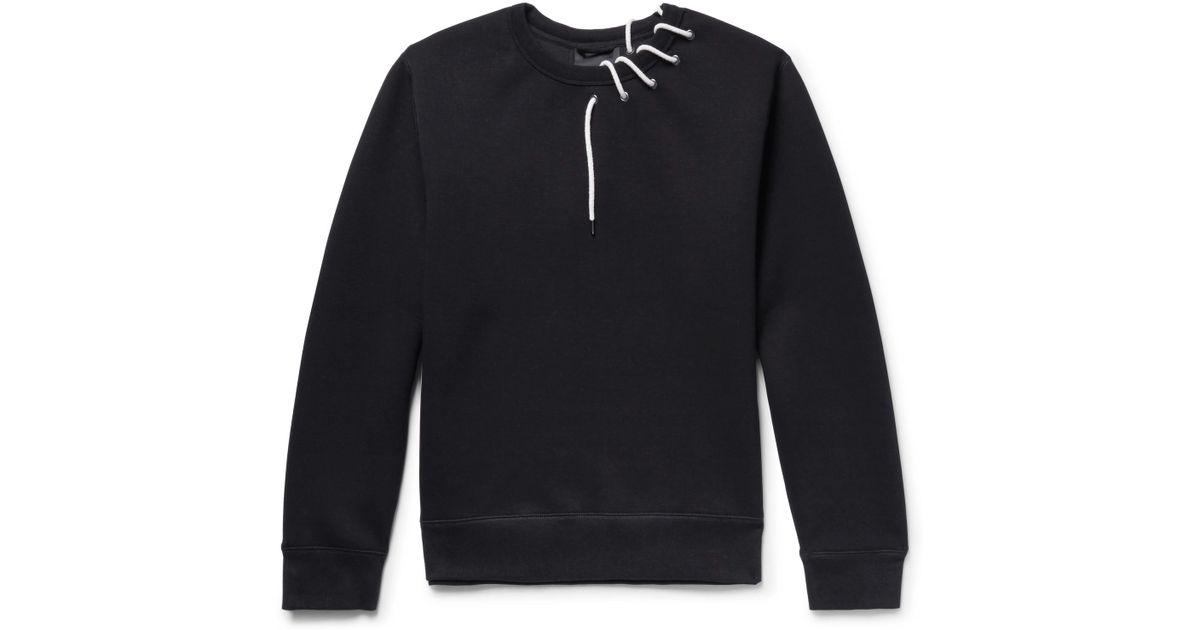 Men Craig Save Green Sweatshirt Black 009433962264154 Lyst For In 54 Laced 7YgxqY