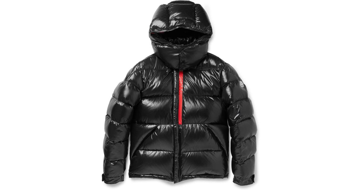 ce9b620d841 Moncler Marlioz Quilted Shell Down Jacket in Black for Men - Lyst