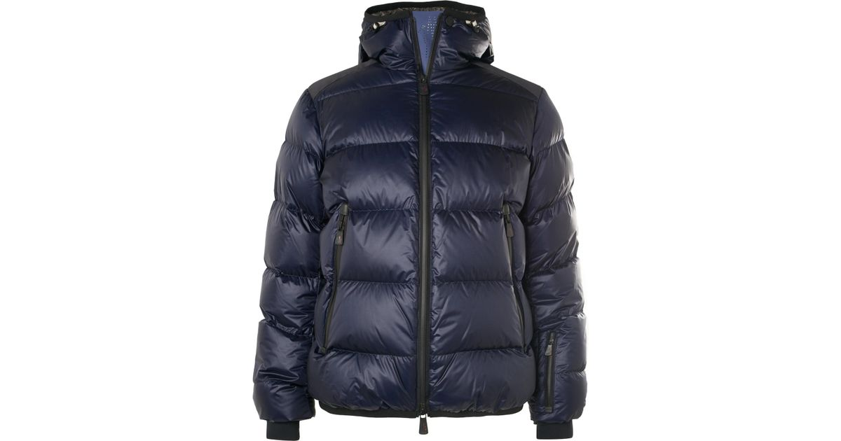 Moncler Grenoble Hintertux Quilted Ski Jacket in Blue for Men - Lyst fb9c487c8