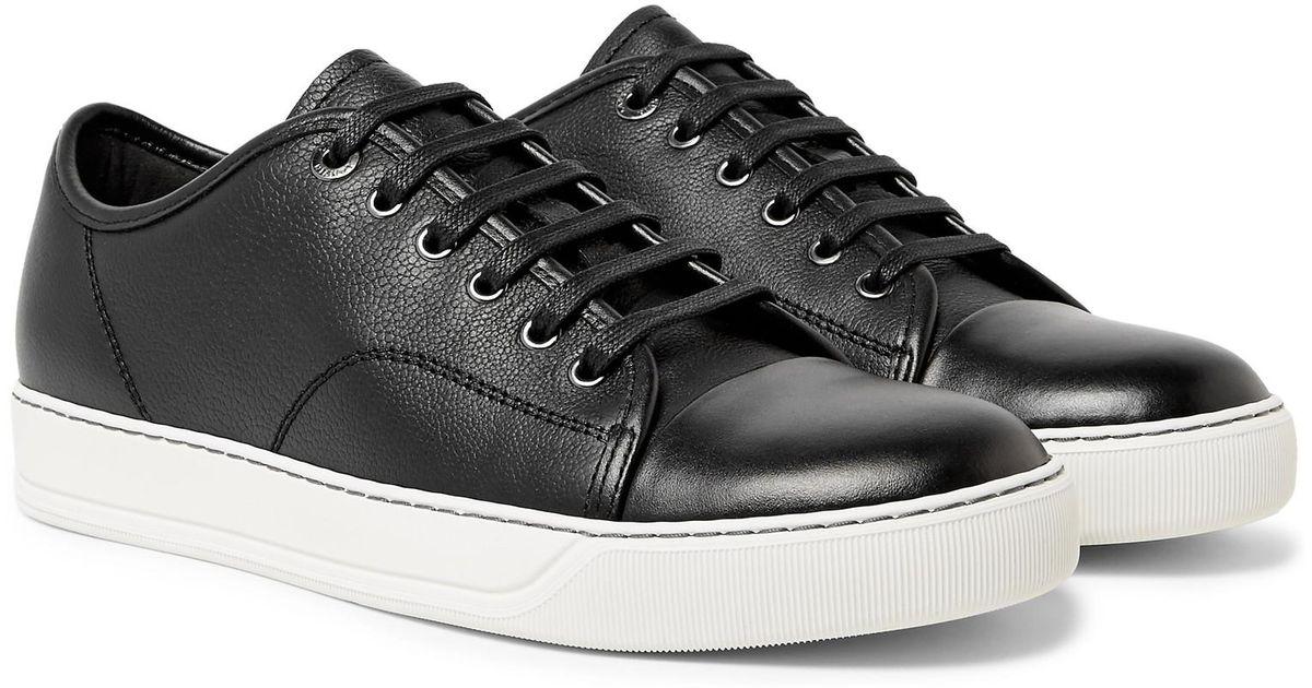 Cap-toe Leather Sneakers Lanvin PJWwkzXYwc