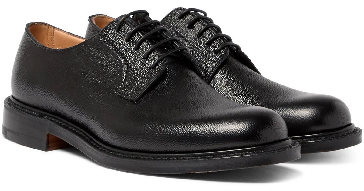 bb768f2b42f36 Church's Shannon Pebble-grain Leather Derby Shoes in Black for Men - Lyst
