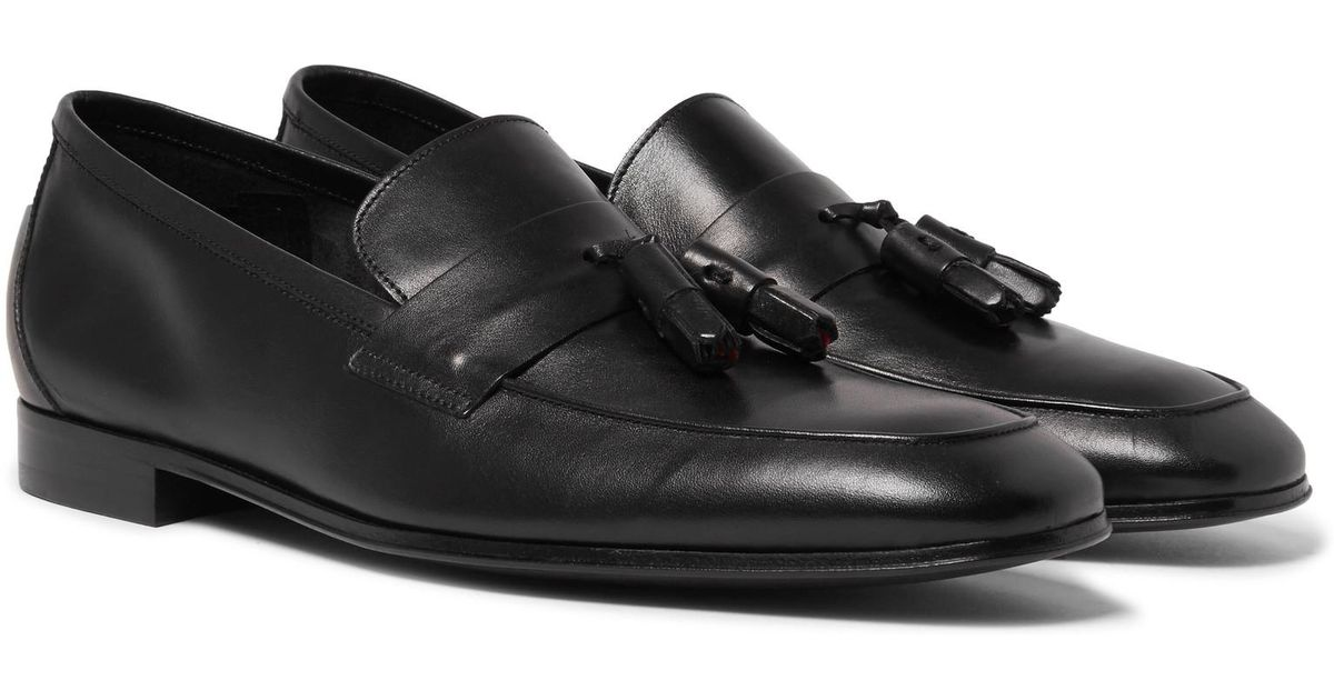 146d5d86101 Paul Smith Glynn Leather Penny Loafers in Black for Men - Lyst