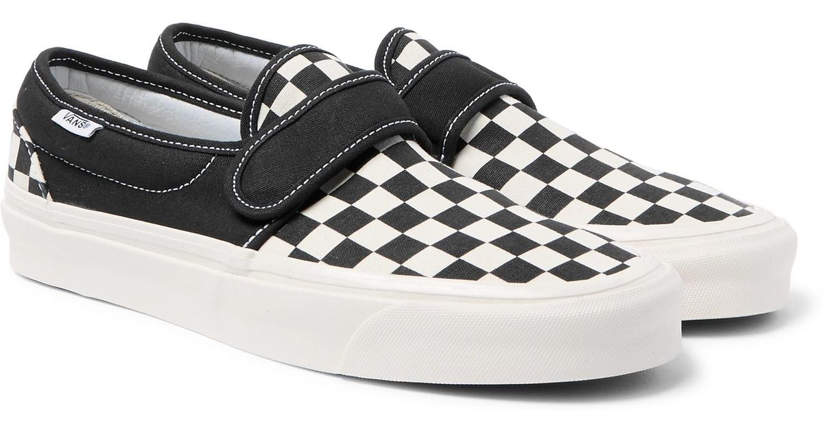 48f6e00a995 Vans Slip-on 47 V Dx Anaheim Factory Pack Sneakers in Black for Men - Lyst