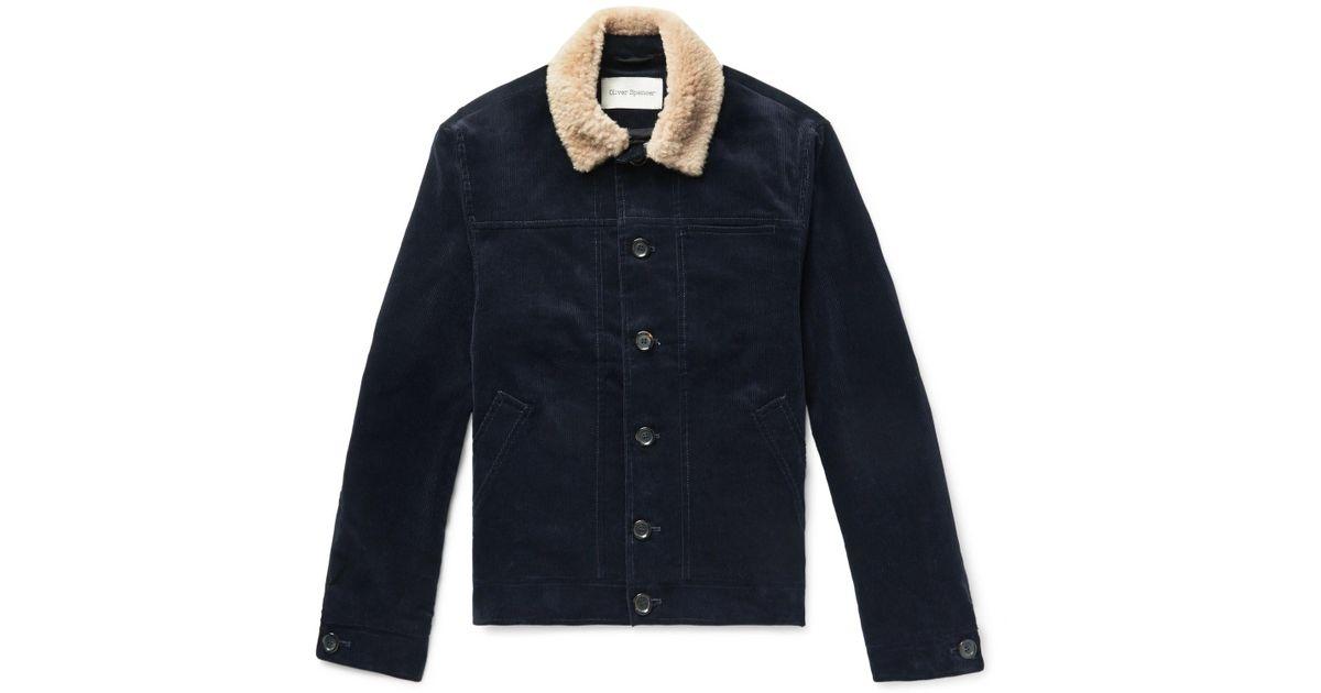 29411764705882604 Save Spencer Men Oliver Blue Jacket Lyst Buffalo 0 In For HznPaq