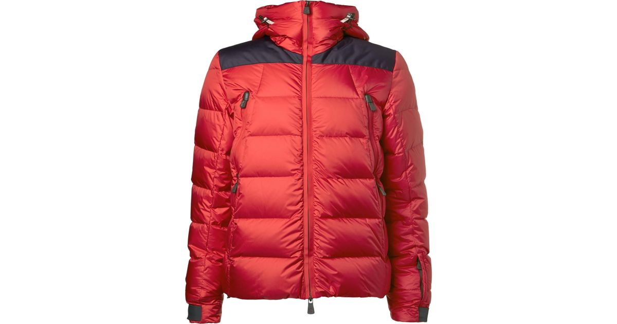 b0e831426c42 Moncler Camurac Down Ski Jacket in Red for Men - Lyst