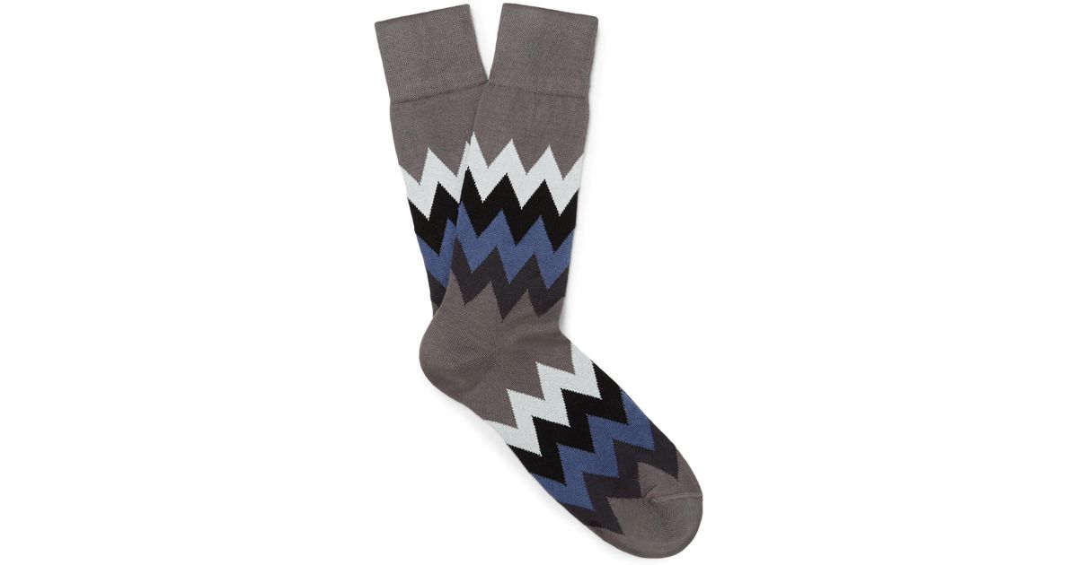 Guitar-patterned Stretch Cotton-blend Socks Paul Smith Discount Outlet Store Cheap Pick A Best Cost bRwqSjb