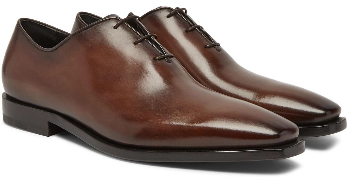 Alessandro Eclair Whole-cut Leather Oxford Shoes Berluti OezvU0cD
