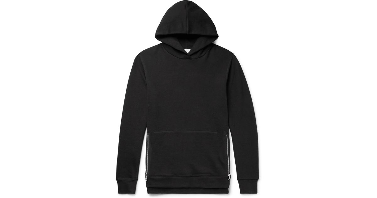 6c61638ce john-elliott-black-Villain-Slim-fit-Loopback-Cotton-jersey-Hoodie.jpeg