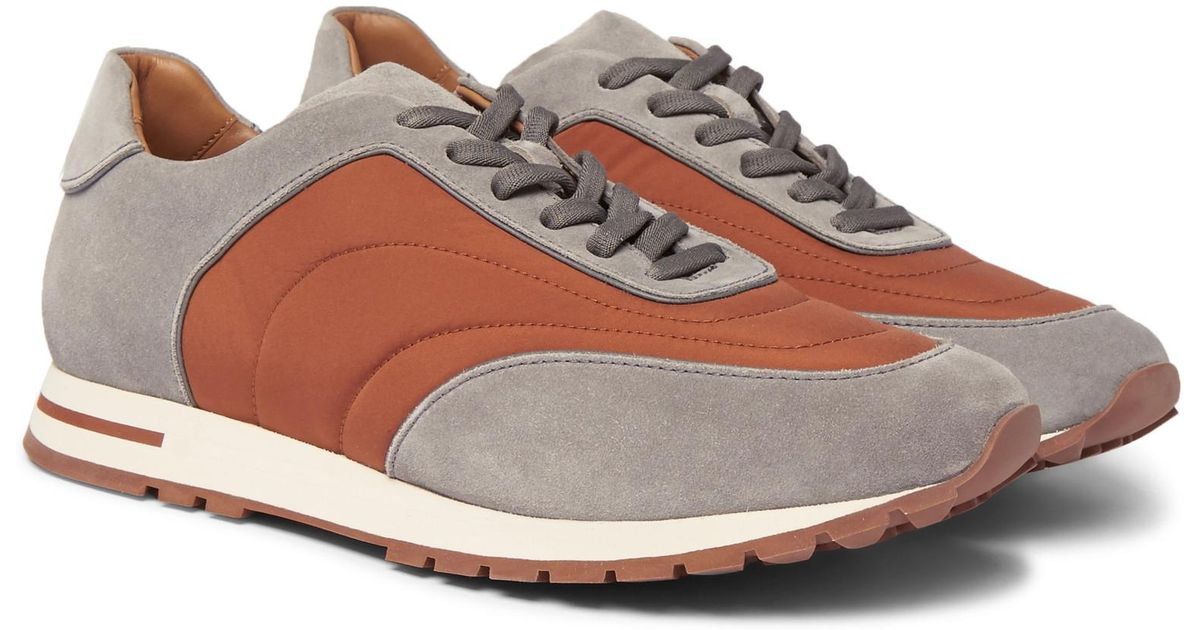 Weekend Walk Suede And Wind Storm System Shell Sneakers Loro Piana Cost Sale Online jWiagKRkw