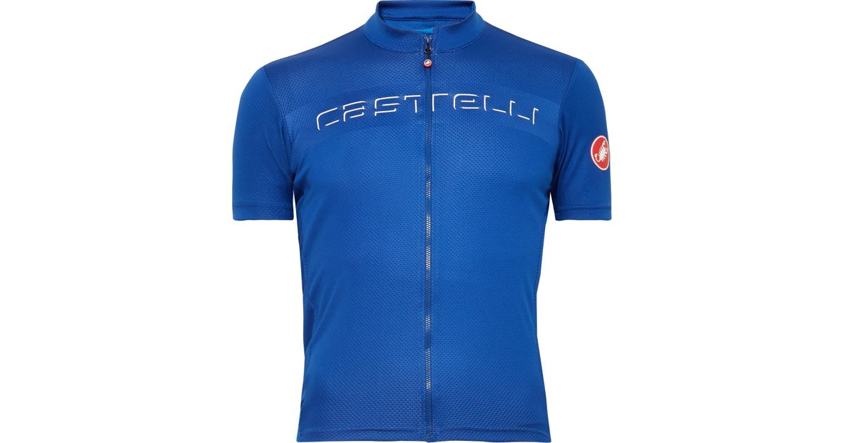 37335b4df Lyst - Castelli Prologo V Cycling Jersey in Blue for Men