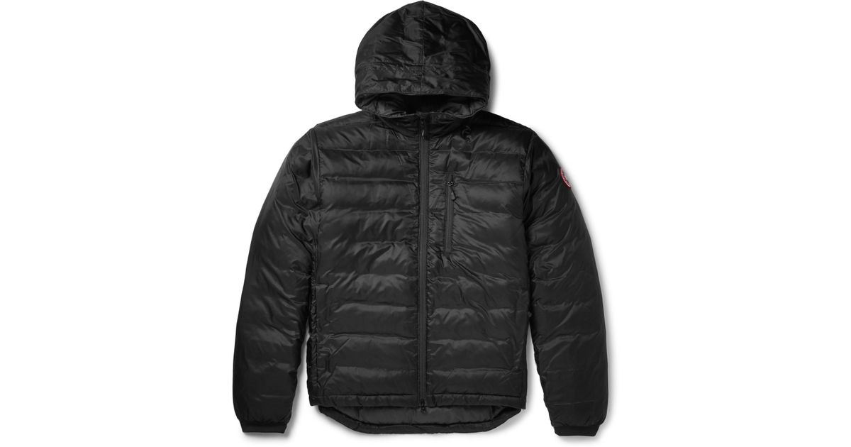 Lyst - Canada Goose Lodge Packable Quilted Ripstop Shell Hooded Down Jacket in Black for Men - Save 13.217391304347828%