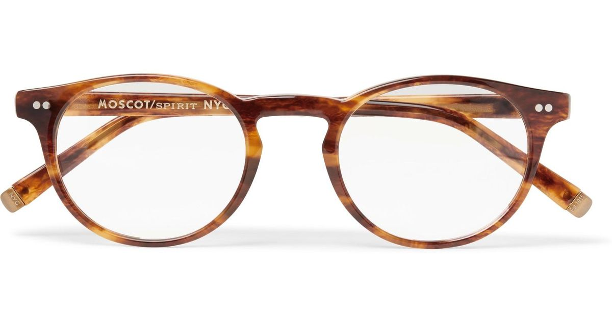 2c8dbb1c51b1 Moscot Frankie Round Frame Tortoises Acetate Optical Glasses In. Moscot  Miltzen Glasses