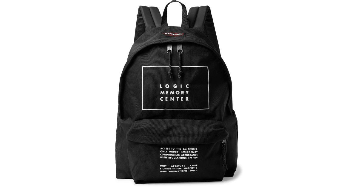 5398d5c3e846 Undercover + Eastpak Printed Canvas Backpack in Black for Men - Lyst