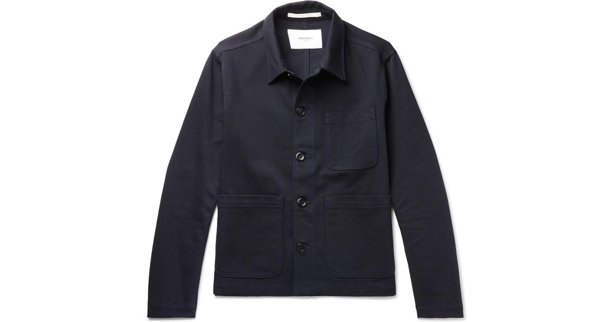Men for Norse Lyst Blue Jacket cotton Twill Projects Tyge Stretch in aWwAvF