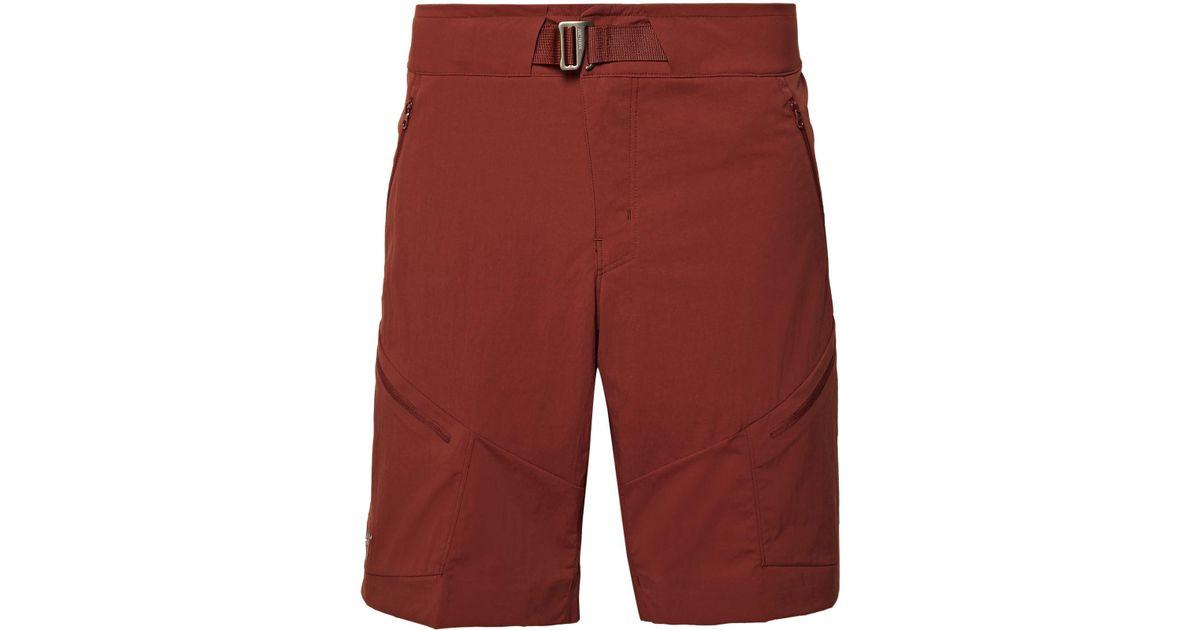 Arc'teryx Palisade Slim-fit Terratex Shorts - Red OCLO5kbk1T