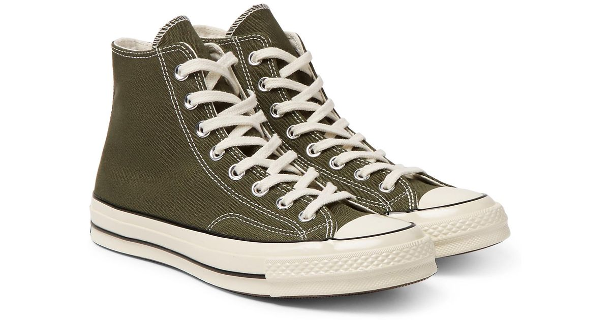 beedb4567e14 Lyst - Converse 1970s Chuck Taylor All Star Canvas High-top Sneakers for Men