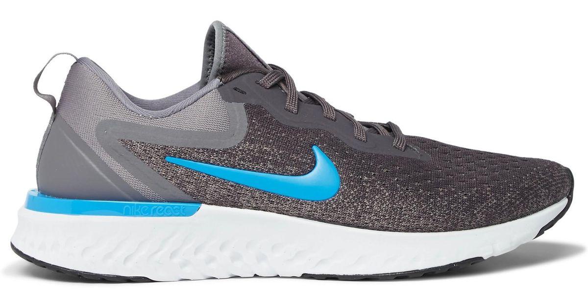 c90510d01ee9 Nike Odyssey React Flyknit Sneakers in Gray for Men - Lyst