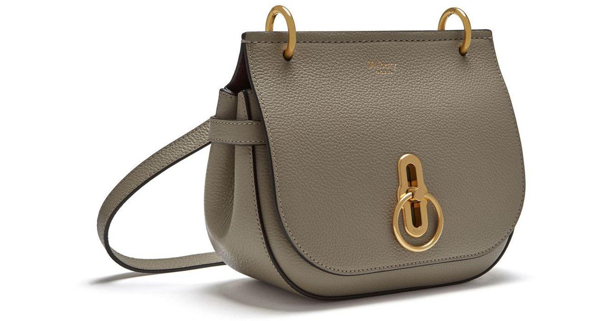 701bd6424f53 Lyst - Mulberry Small Amberley Satchel In Solid Grey Small Classic Grain in  Gray