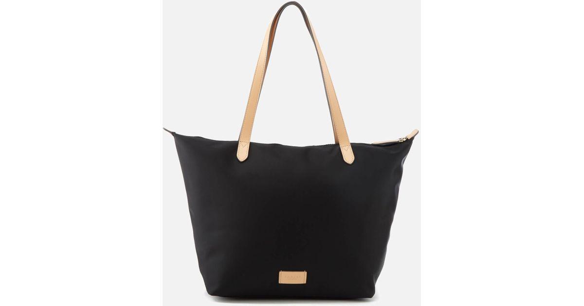 Lyst Radley Pocket Essentials Large Zip Top Tote Bag In Black