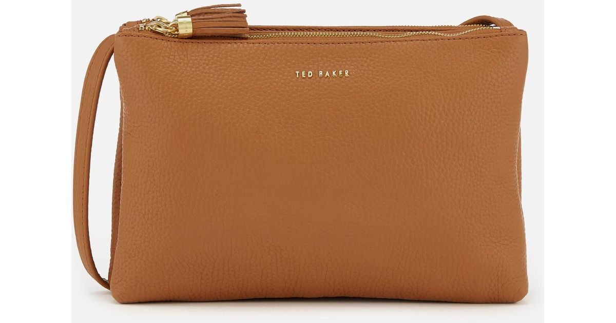 289abf872 Lyst - Ted Baker Maceyy (pale Blue) Cross Body Handbags in Brown - Save 36%
