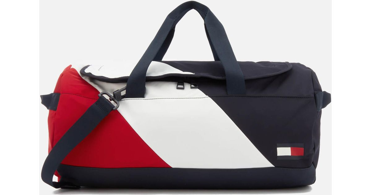 e0a1a14c2ddc Lyst - Tommy Hilfiger Speed Duffle Bag in Blue for Men