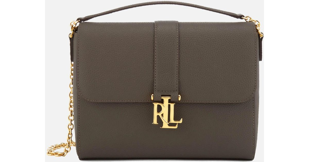 eb5e19c9c94c Lyst - Lauren by Ralph Lauren Carrington Gabbi Shoulder Bag