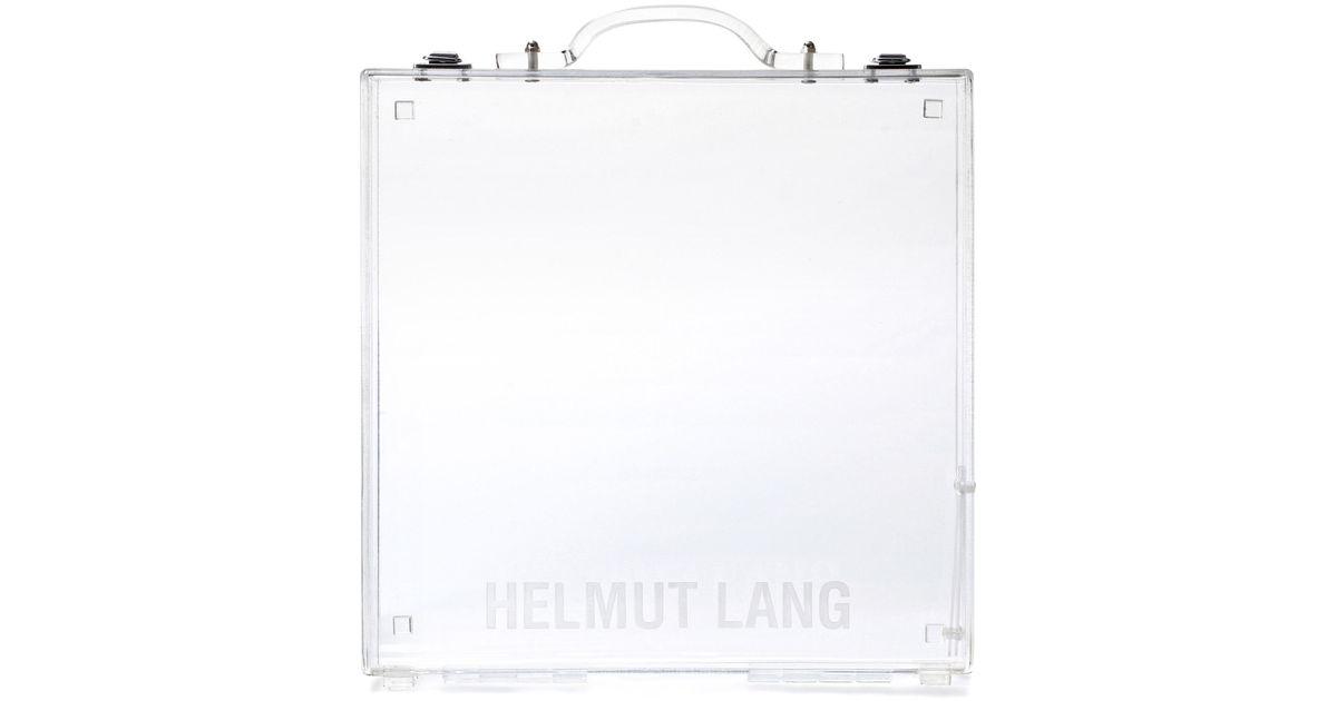 Mallette transparente Lucite W1ETbt