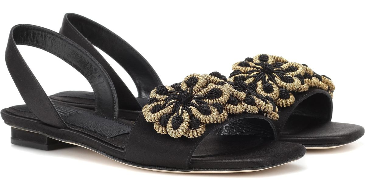 Sanayi 313 Randa satin sandals Buy Best Excellent Cheap Online Really Cheap Online Clearance Discount Free Shipping Geniue Stockist rnObx