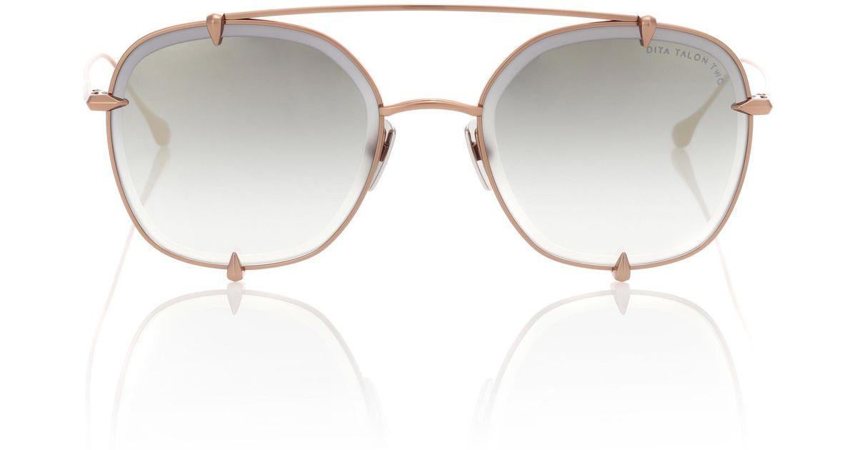 cc98c474754c Lyst - Dita Eyewear Talon-two Sunglasses in Brown