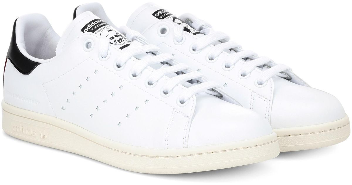 Lyst - Stella McCartney White Stan Smith Sneakers in White - Save 20% fd0a82049