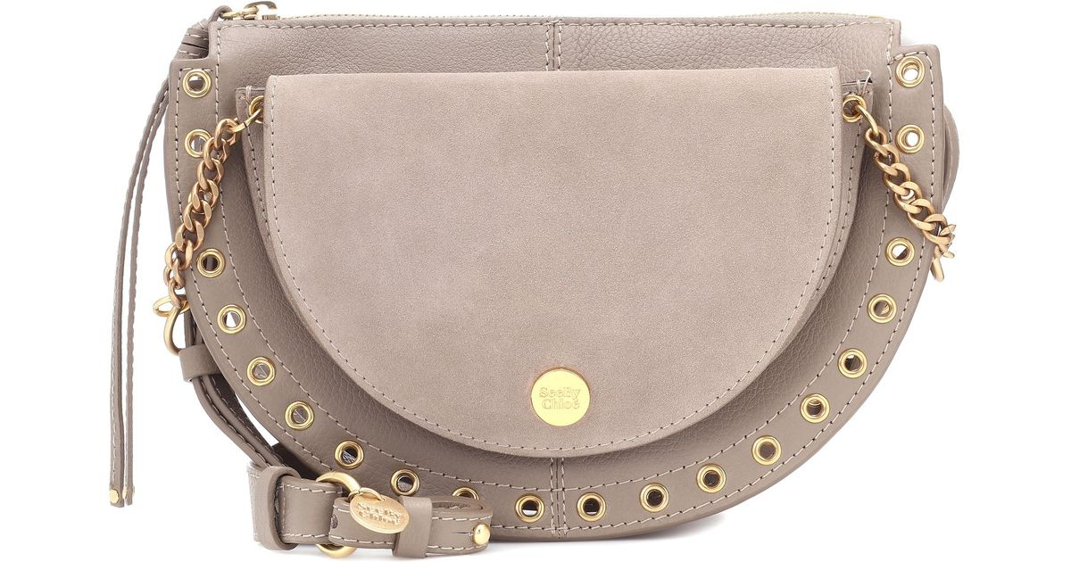 See Chloé Medium By Tasche Crossbody Gray Kriss gYby6f7v
