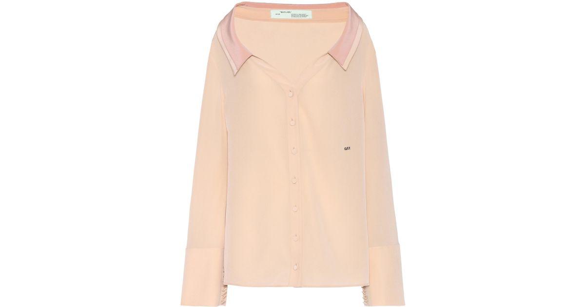 bafa9157730d Lyst - Off-White C O Virgil Abloh Exclusive To Mytheresa. Com – Shoulder  Shirt in Pink
