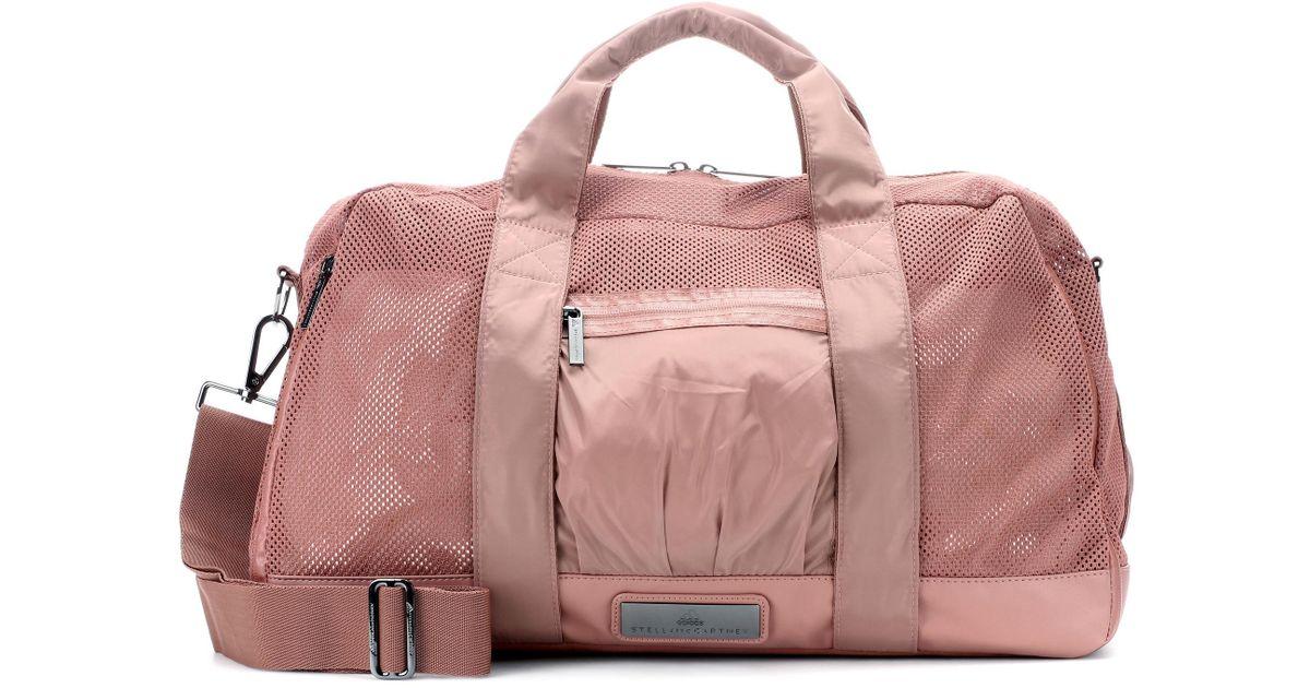 Lyst - adidas By Stella McCartney Yoga Gym Bag in Pink efc9742e5cdf2