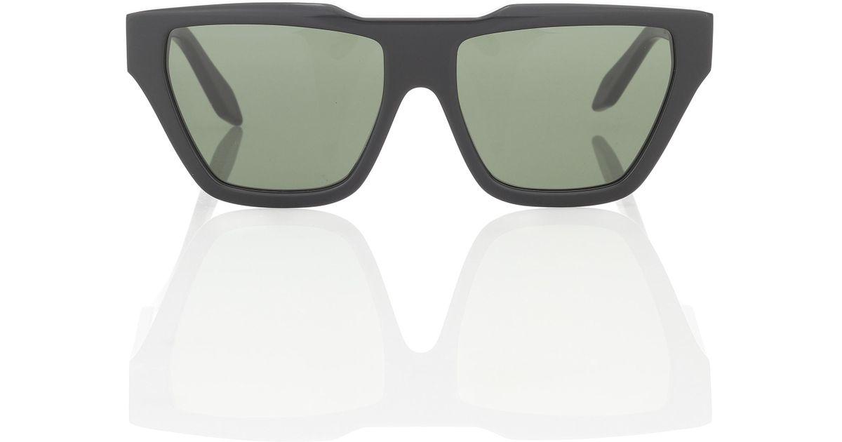 31d3245e42 Lyst - Victoria Beckham Square Cat-eye Sunglasses in Black
