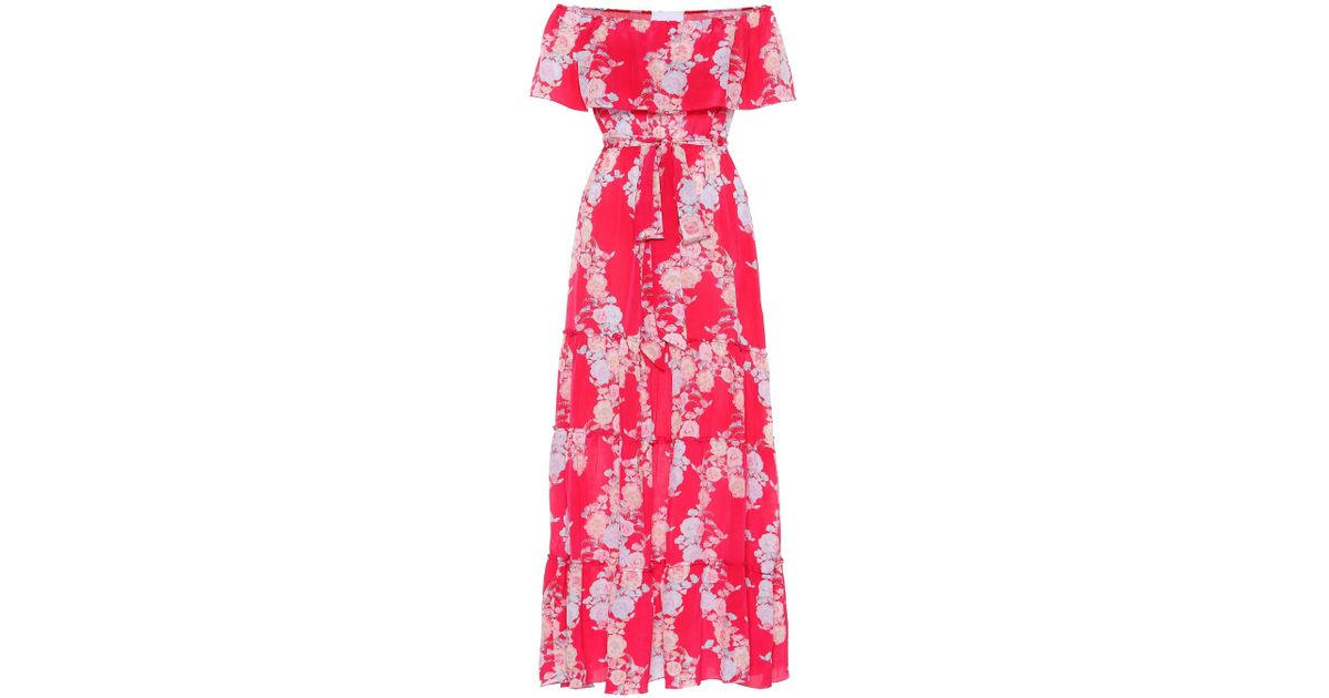 Melrose Sunset silk wrap dress Athena Procopiou oAIXPH