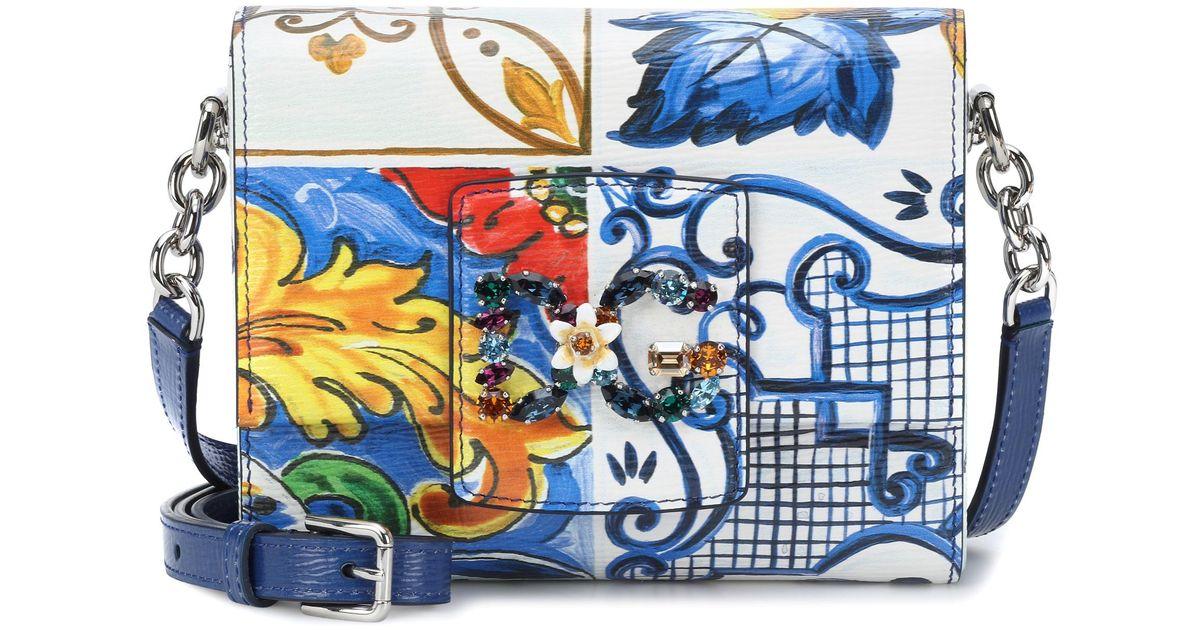bdd674db9266 Lyst - Dolce   Gabbana Millenials Pm Bag in Blue