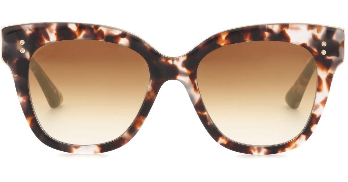 899553ebdf51 Lyst - Dita Eyewear Daytripper Cat-eye Sunglasses in Brown