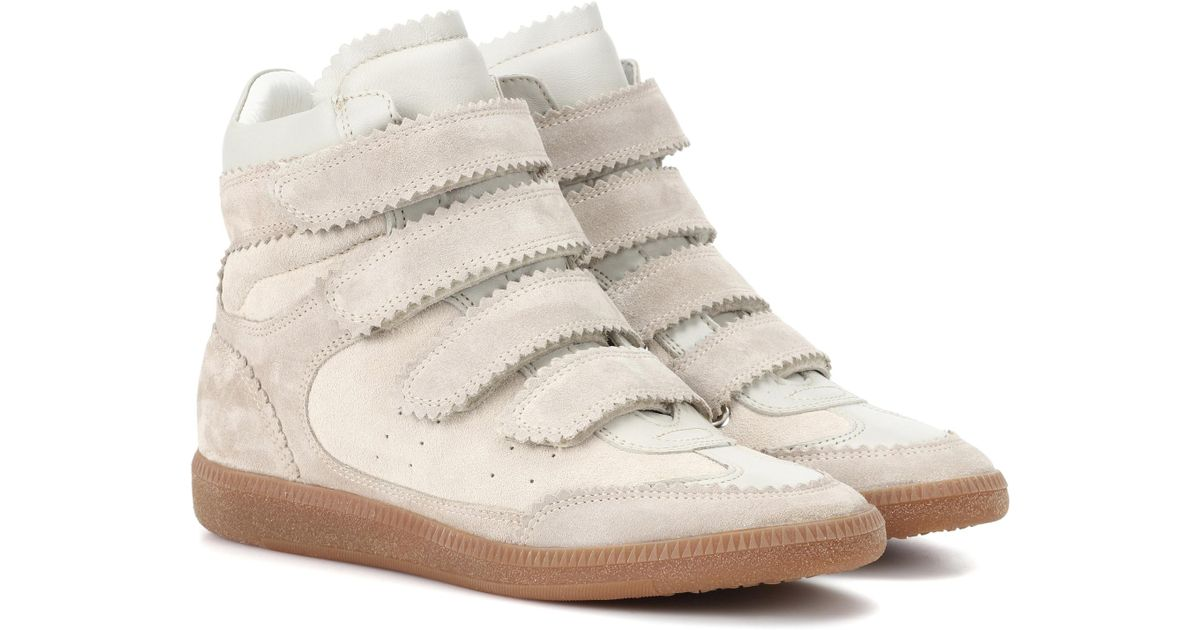 Isabel Marant Sneakers - Bilsy Vintage Sneakers Faded Ecru - - Sneakers for ladies Sast Cheap Online Reliable Online Cheap Price 2018 Newest Sale Online yJ68yU2bgw