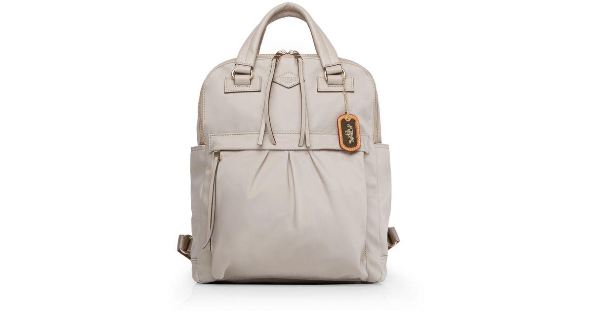 83a140c94eef Lyst - Mz Wallace Jordan Backpack in Gray