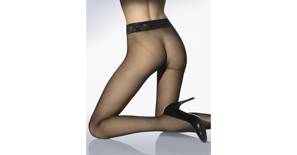 163a8ab2bc8 Wolford Fatal 15 Seamless Tights in Black - Lyst