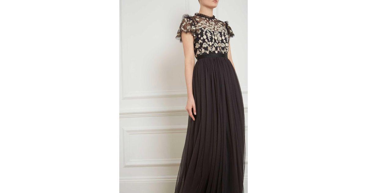 Lyst Needle Thread Darcy Bodice Maxi Dress
