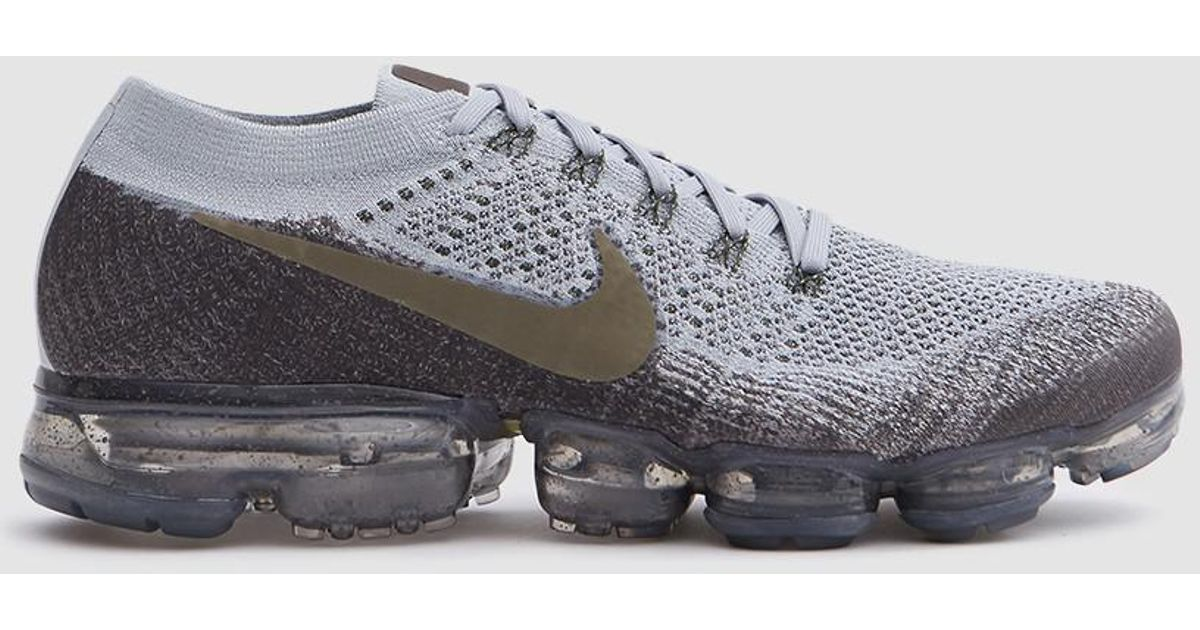 03f8aa438bf98 Nike Air Vapormax Flyknit Running Shoe In Midnight for Men - Lyst