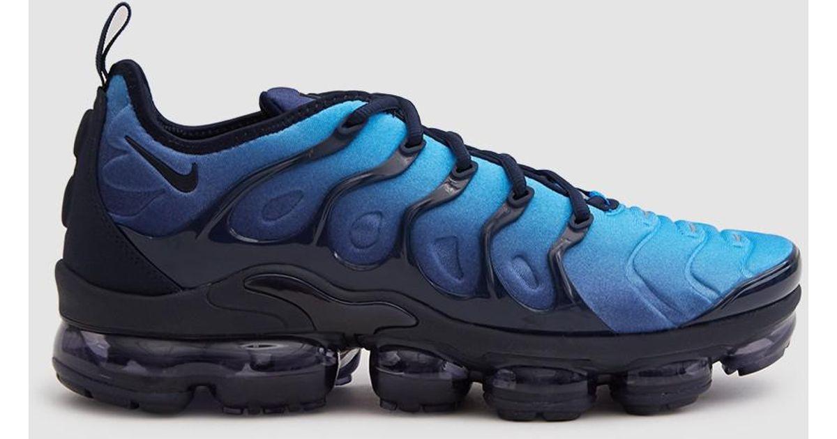 quality design f2cc7 e1a97 Lyst - Nike Air Vapormax Plus Shoe in Blue for Men