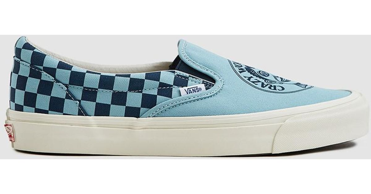 0e3a2e04f9 Lyst - Vans Jvh Og Classic Slip-on Lx In Jvh Stratosphere in Blue