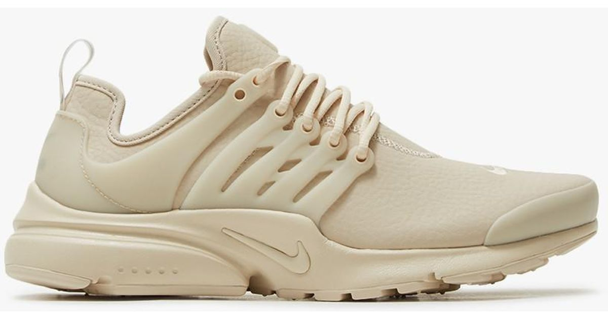 5ea8a82ce6fd ... discount code for lyst nike air presto prm in oatmeal in natural 15696  bebaa